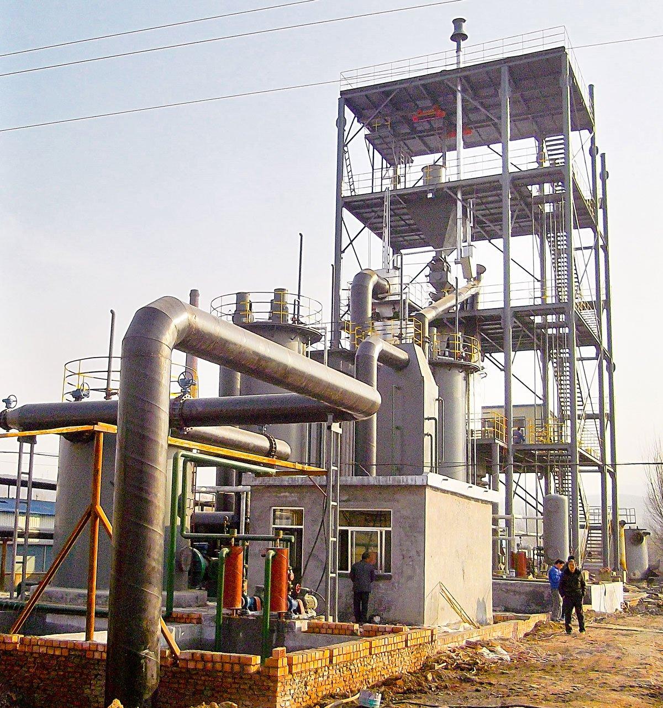 установки переробки вугілля, газифікація бурого вугілля