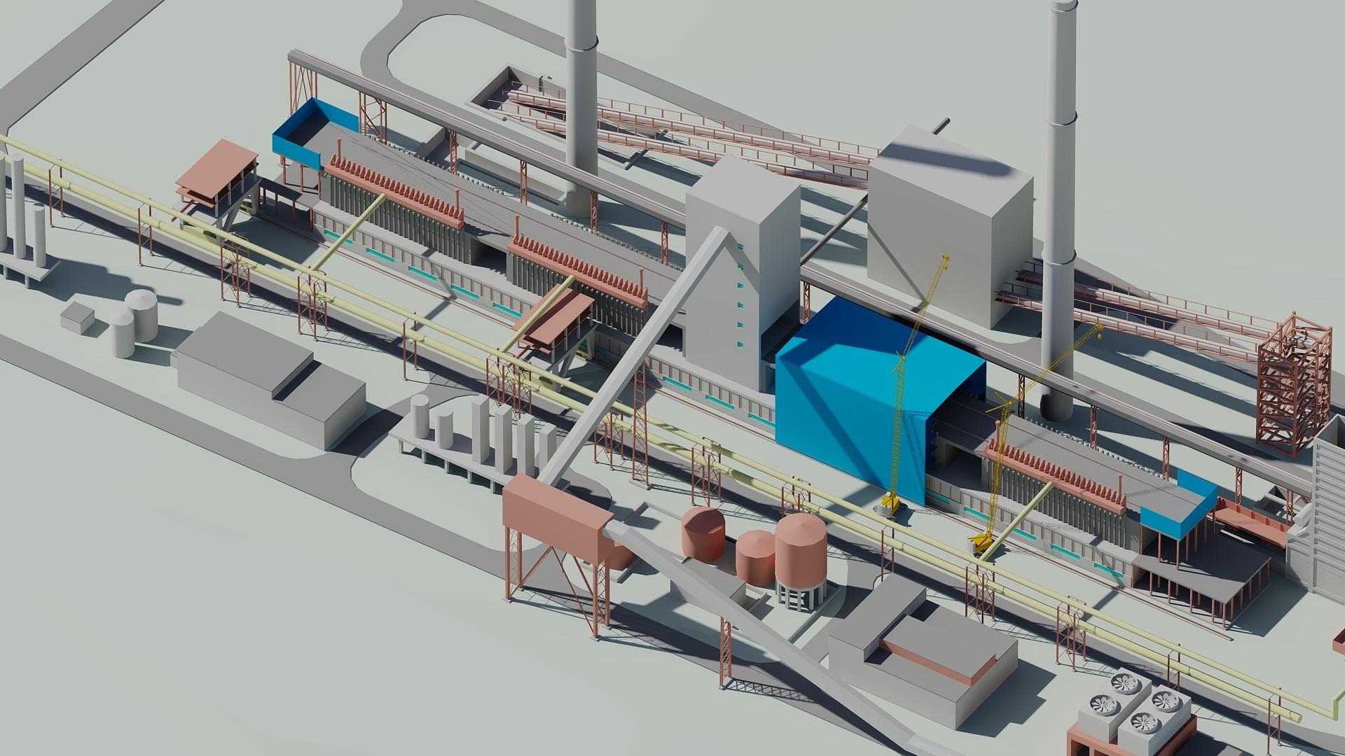 генеральний план виробничого підприємства