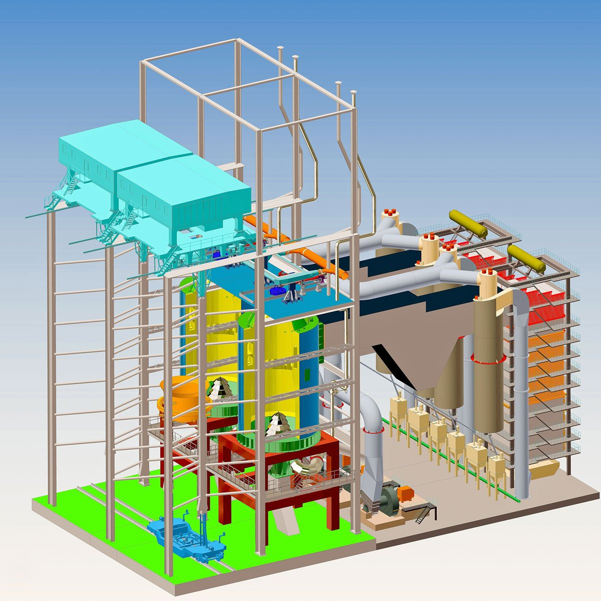 установка утилізації тепла димових газів