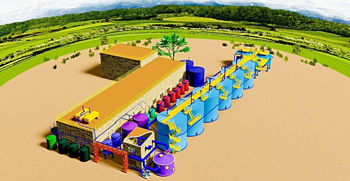 очищення стічних вод від забруднення, перелік узгоджень при проектуванні водозабірних споруд, Сучасні біохімічні установки